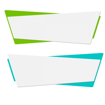 Origami banner images vectors. Rectangle box png banner library download