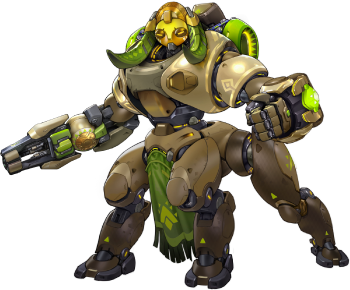 Orisa transparent supercharger. Overwatch wiki