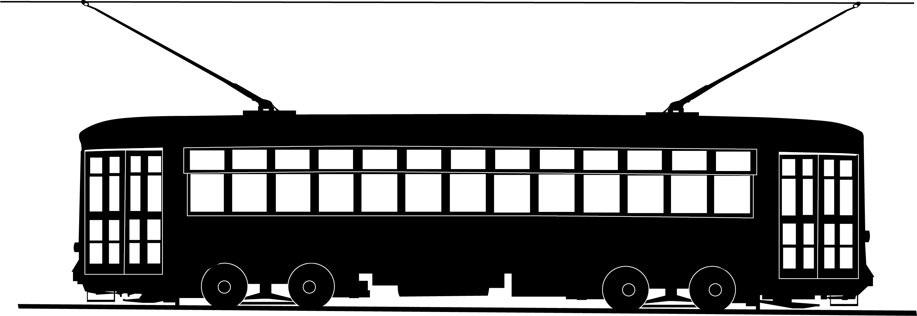 Orleans clipart. New streetcar trolley graphic