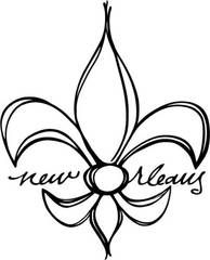 Orleans clipart de lis. Fleur on pinterest new