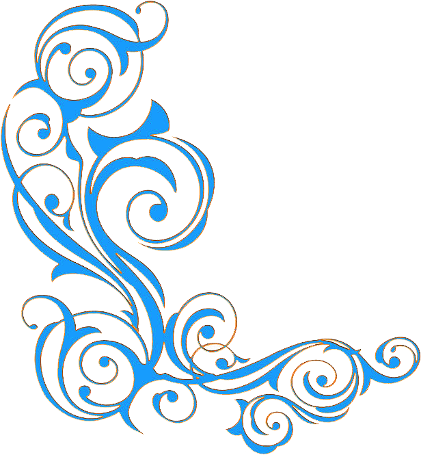 Ornament clipart banner. Download hd freeuse blue
