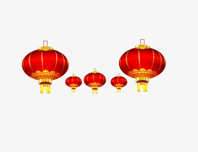 Ornament clipart chinese new year. Ornaments creative lantern festival