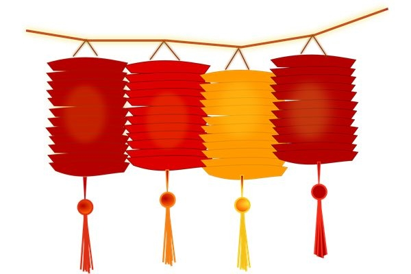 Ornament clipart chinese new year. Lunar at getdrawings com