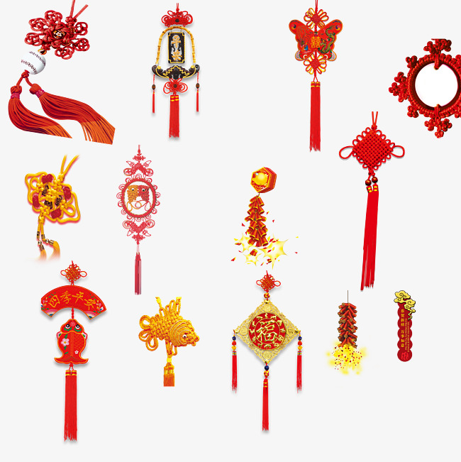 Ornaments clipart chinese new year. Free creative buckle festival