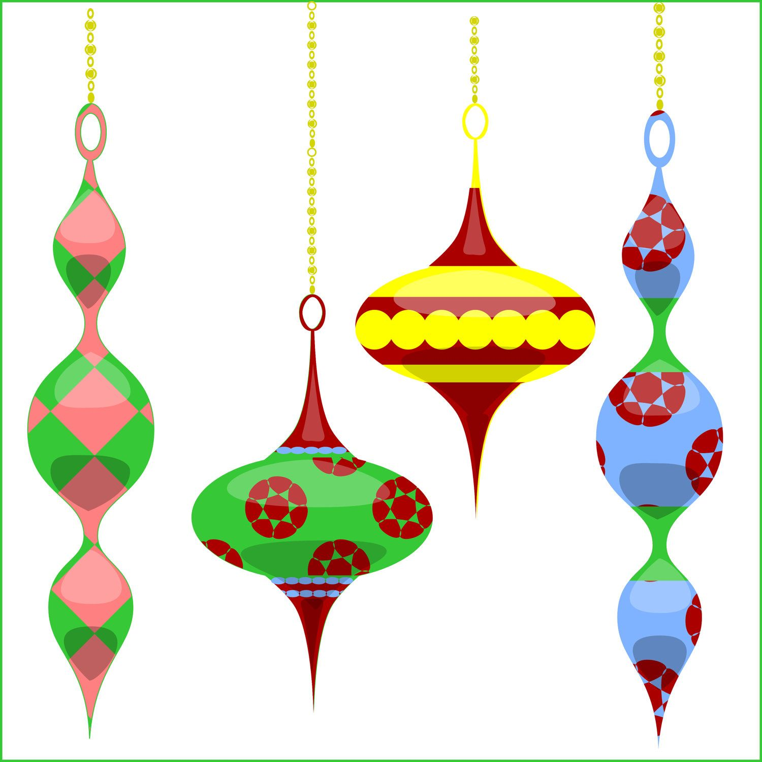 Ornament clipart christmas tree ornament. Ornaments clip art for