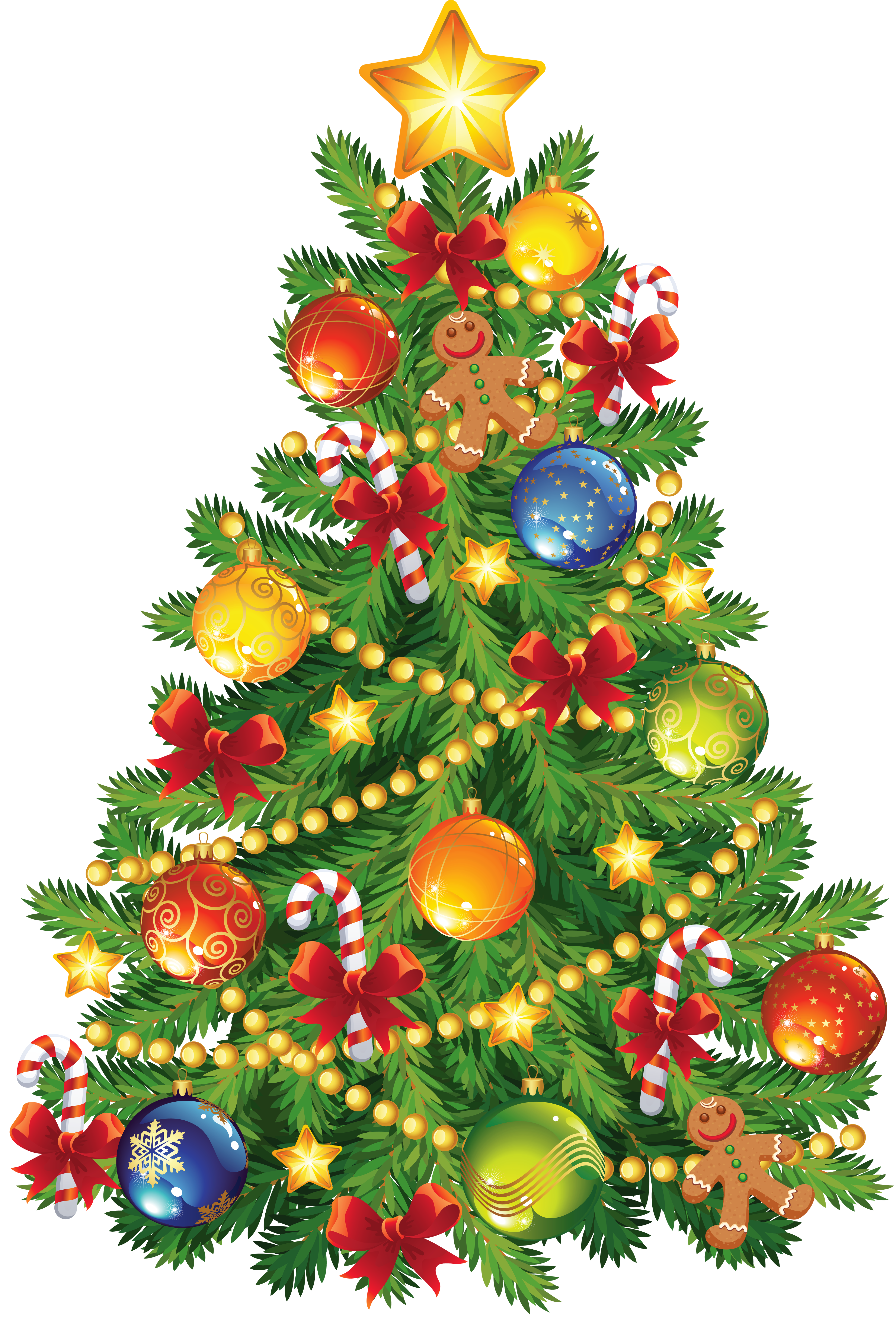 Large transparent with gingerbread. Ornament clipart christmas tree ornament graphic library library