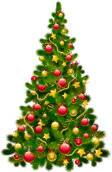 Large transparent with ornaments. Ornament clipart christmas tree ornament vector free stock