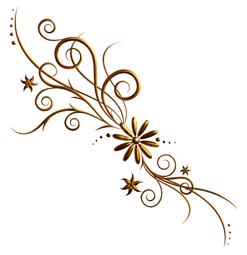 Ornament design png. Floral deco picture gallery