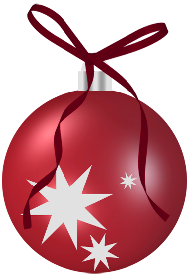 Ornament transparent single. Collection of free baubee