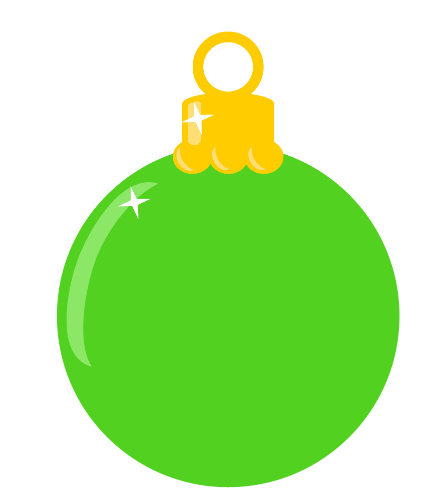 Ornaments clipart clear background. Christmas transparent free decorations