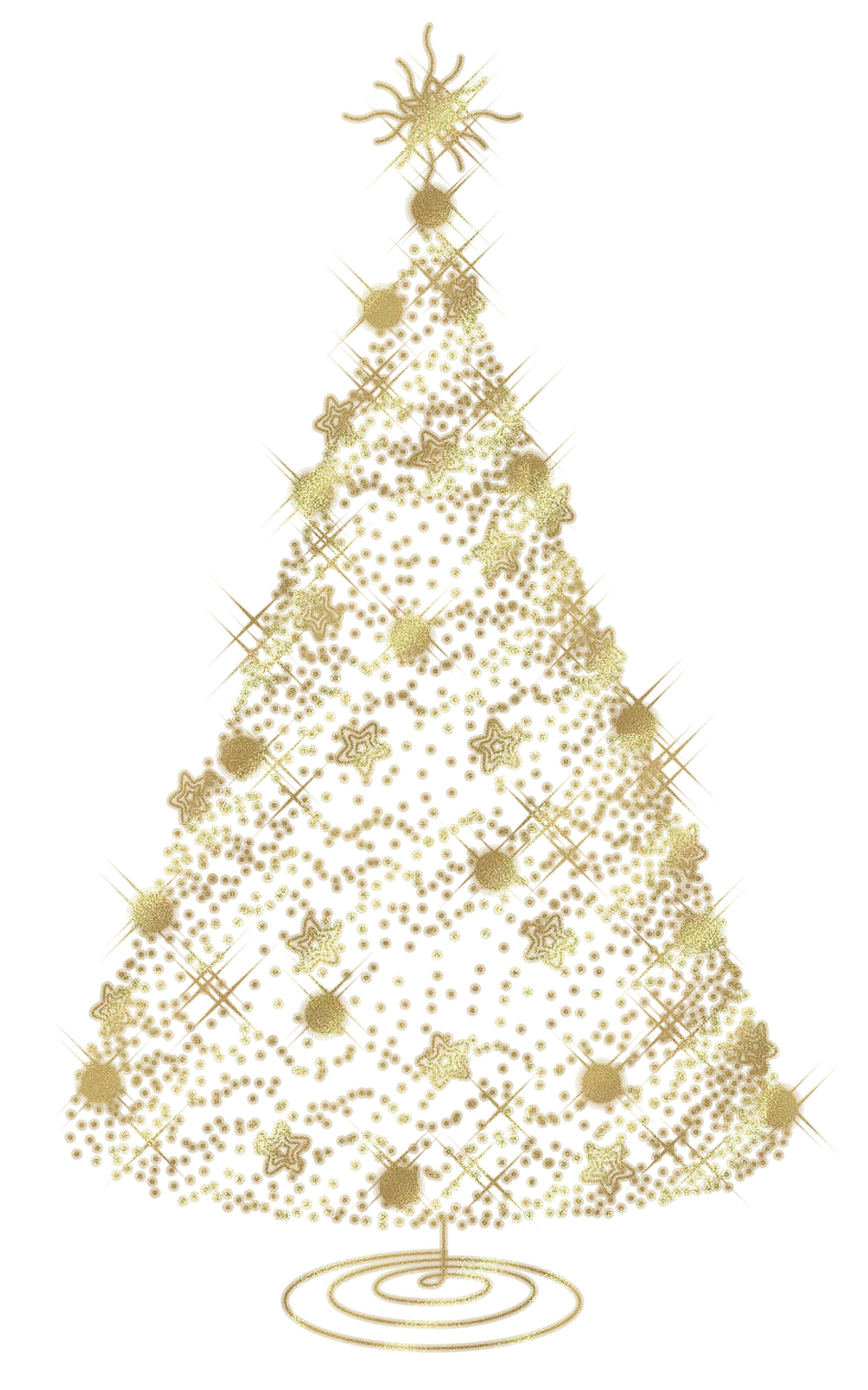 Fancy White Christmas Ornaments Background Transparent Png Clipart