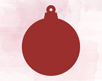 Ornaments clipart svg. Items similar to christmas