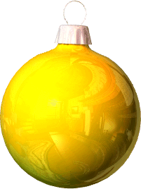 Ornaments clipart yellow ornament. Free christmas public domain