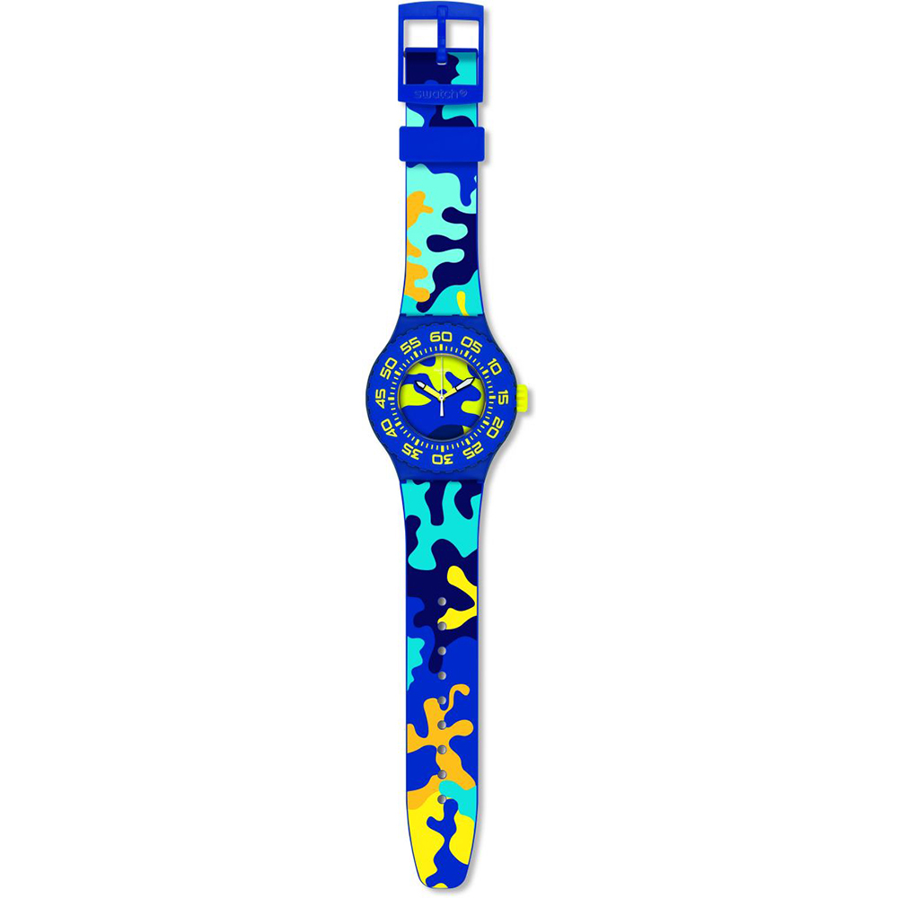 Orologio subacqueo. Swatch suun out in