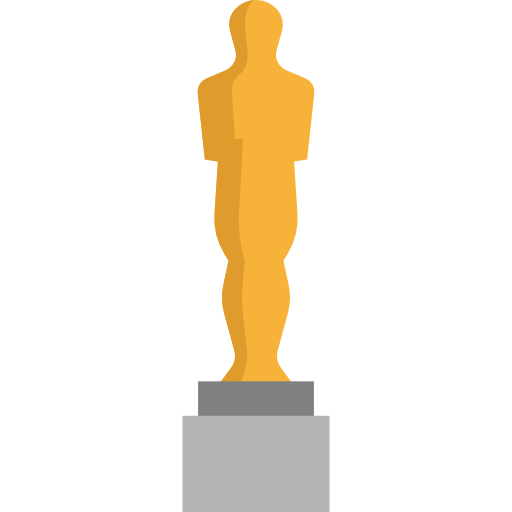 Oscar trophy png. Cinema award awards entertainment