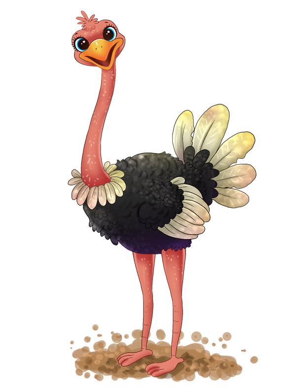 Ostrich clipart cute baby. Free cliparts download clip