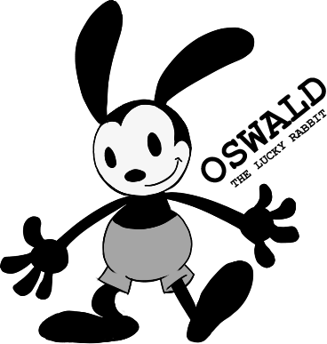 Oswald the lucky rabbit png. Image by pokesonic toontown