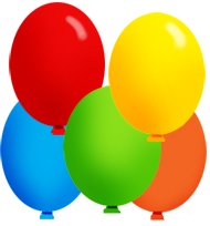 Other clipart colourful balloon. Party clip art free