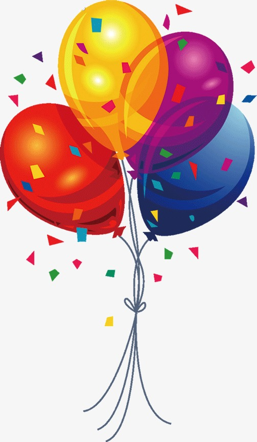 Other clipart colourful balloon. Colored decoration colour png