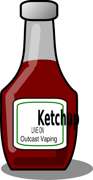 Other clipart outcast. Ketchup live on vaping