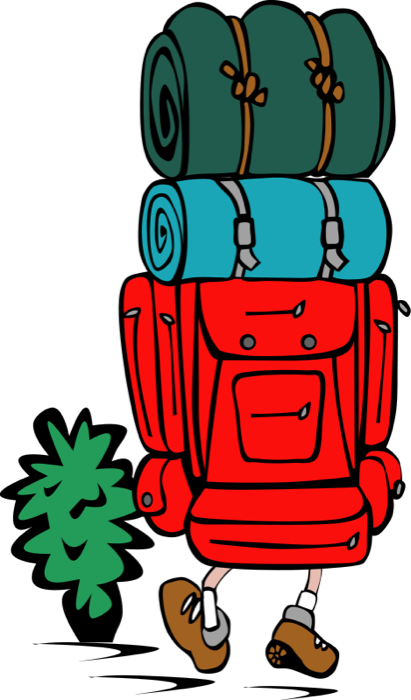 Camping free travel graphics. Trip clipart beach holiday image freeuse download