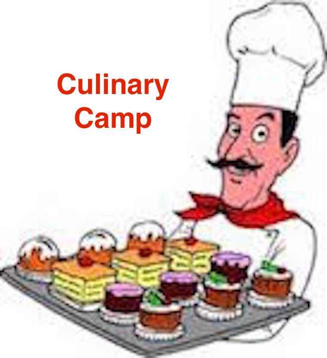 Others clipart camp food. Kids culinary thur june