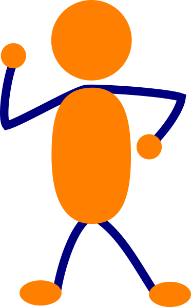 Others clipart helpful person. Orange other clip art