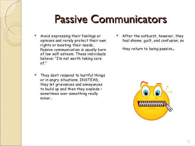 Others clipart passive communication. Styles ppt communicatorspassive communicators