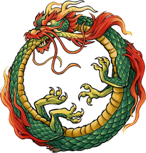 Ouroboros drawing dragon chinese. Pin by sergey on