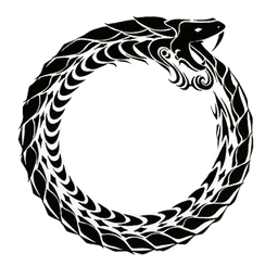 Png images pluspng ouroborospng. Ouroboros transparent graphic black and white