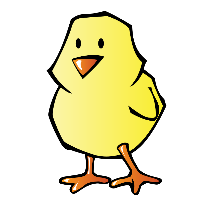 Animal clipart duck. Chick clip art library