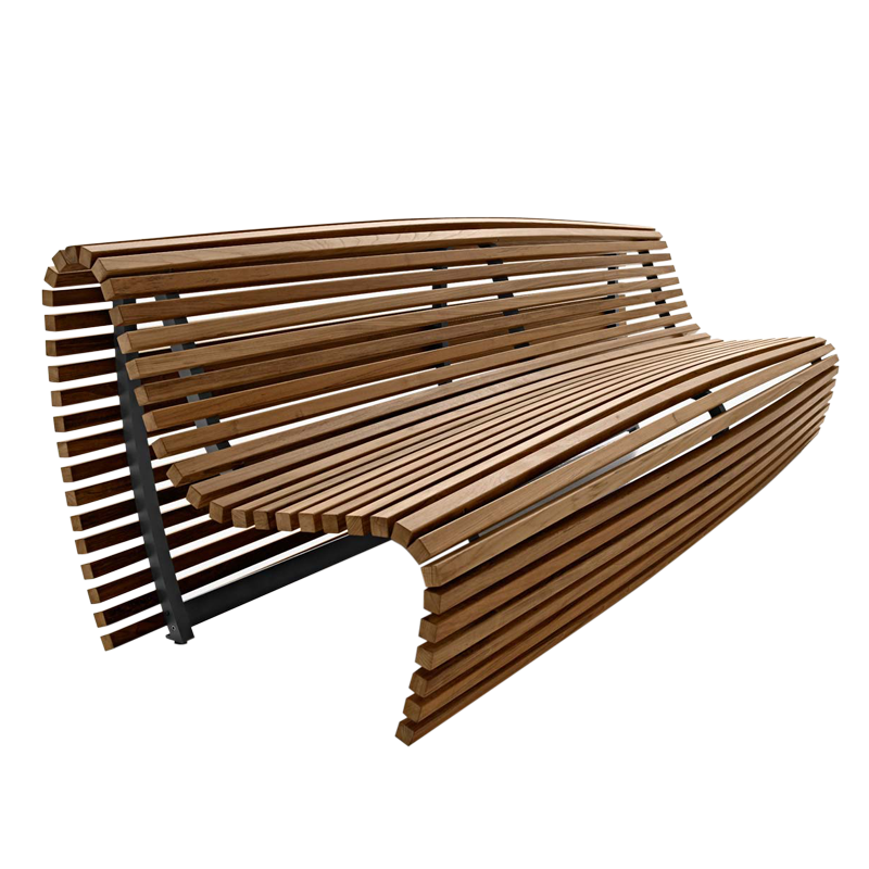 Outdoor bench png. B italia itikaka bb
