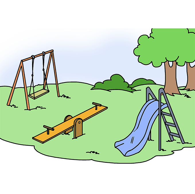 Sandbox drawing playground. How to draw a