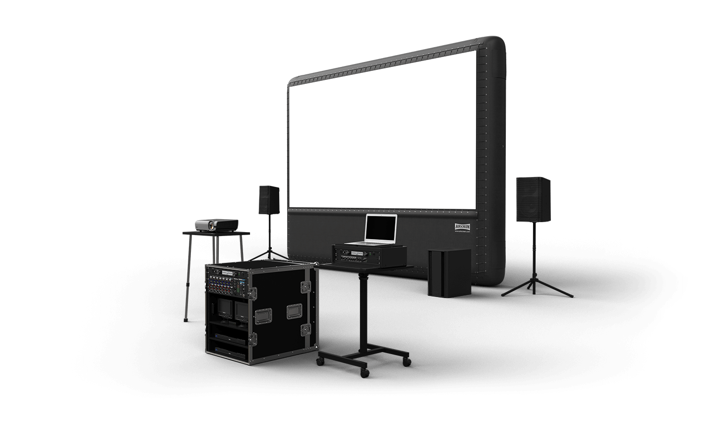 vector screen projector