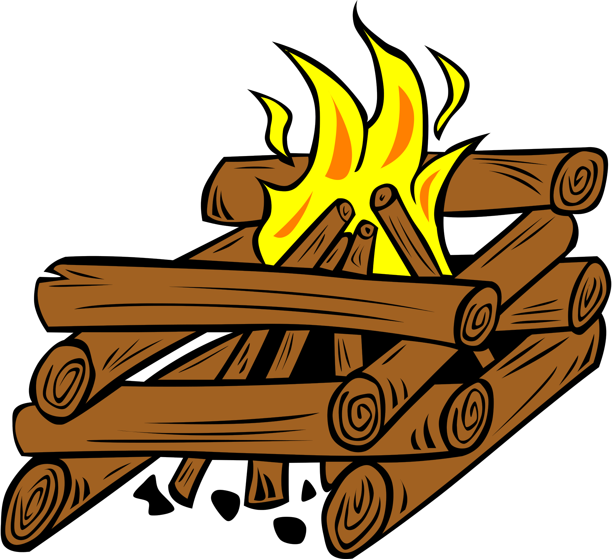 Outdoors clipart camp fire flame. Free picture download clip