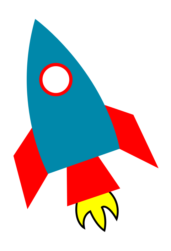 rocket clipart science rocket