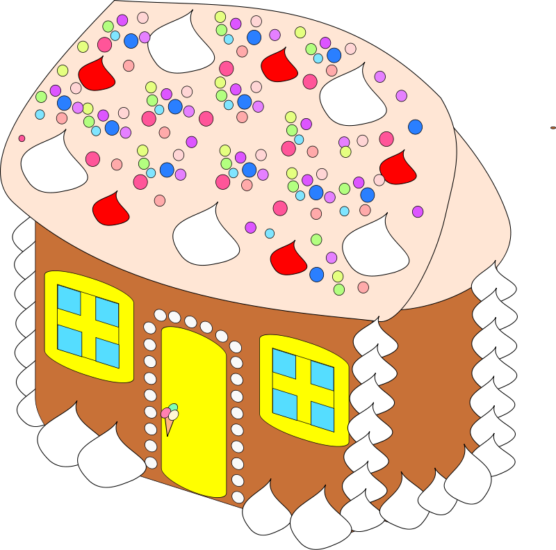 Outer clipart houe. Christmas food candy canes