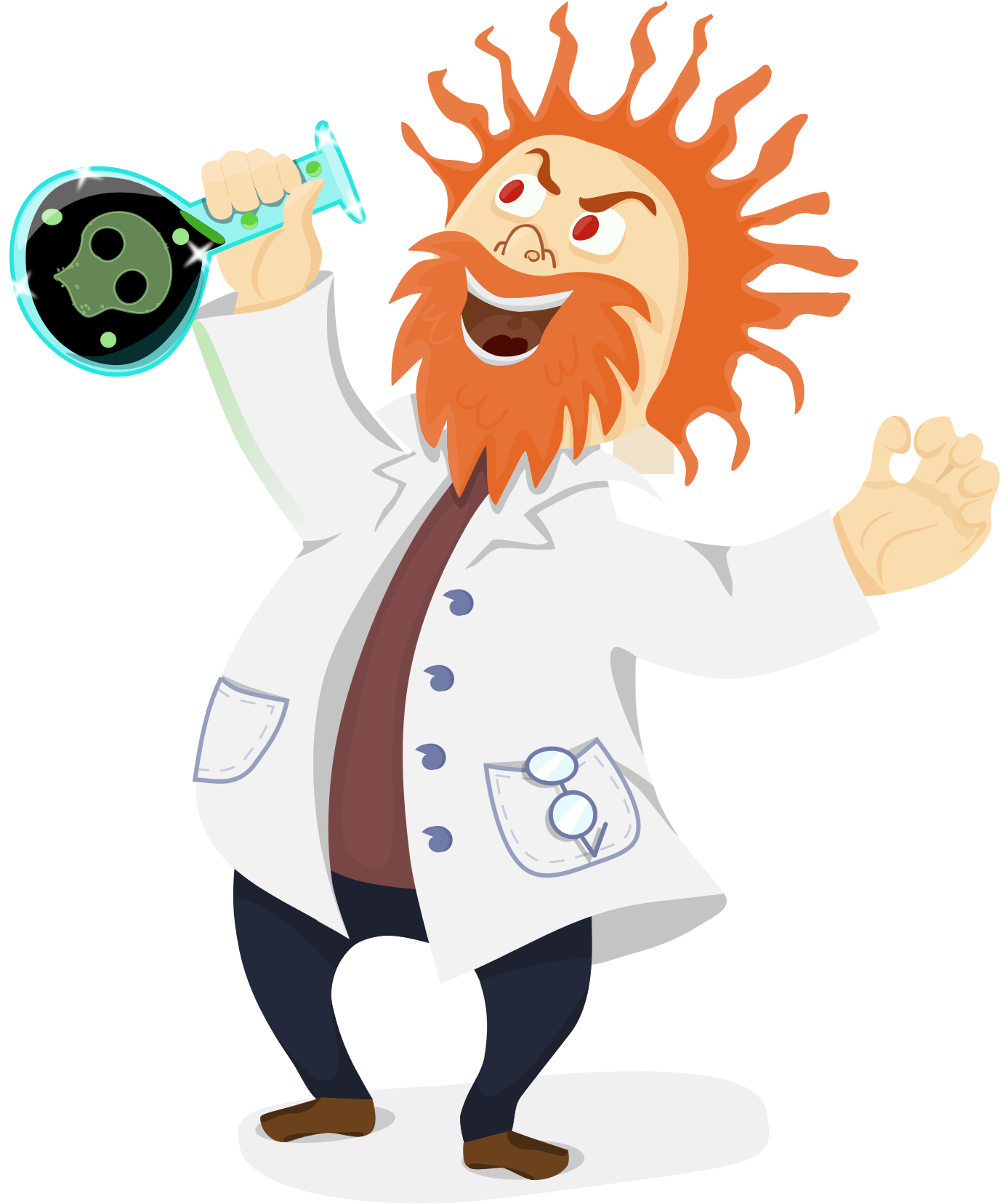 Outer clipart une. Scientist png transparent images