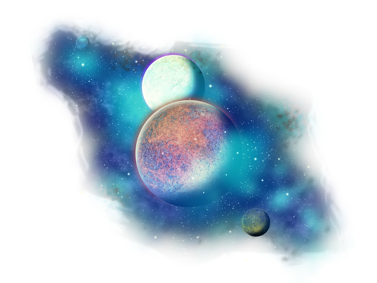 Outer space png. Freetoedit clipart stars galaxy
