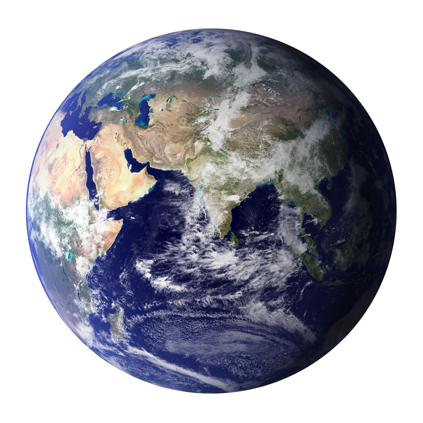World png image. Earth