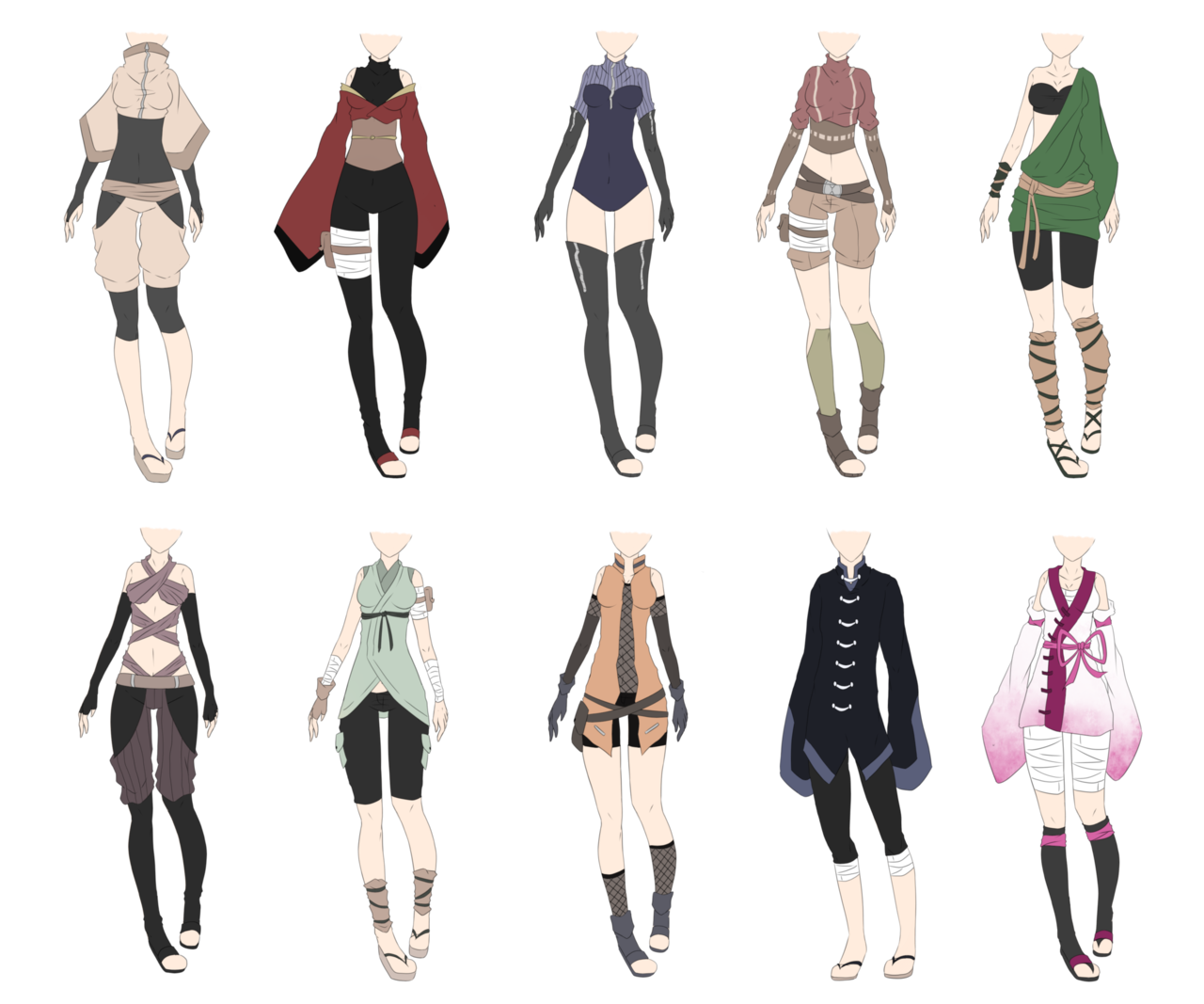 outfits drawing zodiac