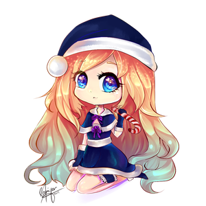 Outfits drawing christmas. Commissions by xilverxparkle on