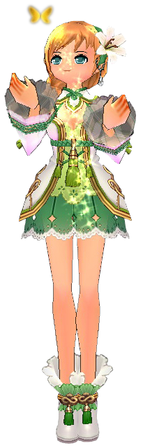 Outfits drawing forest. Mabinogi all floral fairy