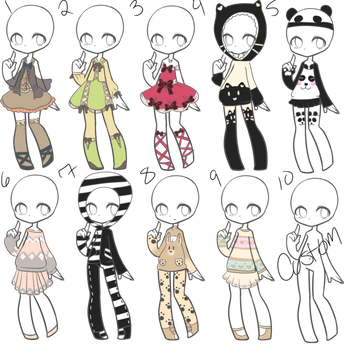 outfits drawing child