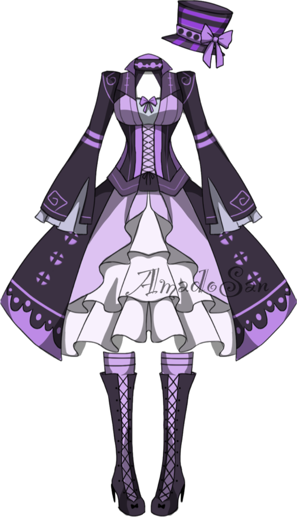 Outfits drawing mad hatter. Victorian outfit adoptable closed