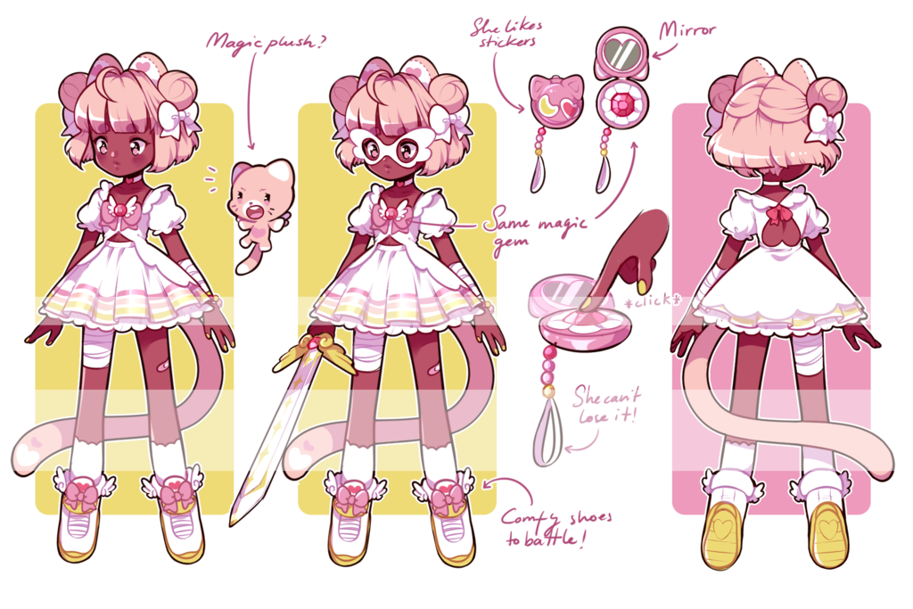 Outfits drawing magical. Contest entry design a