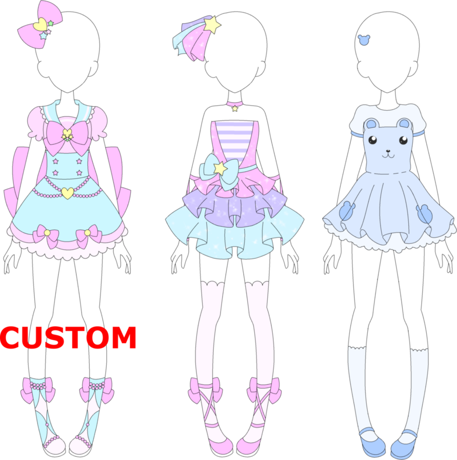 Outfits drawing mystical. Mra fairy kei by