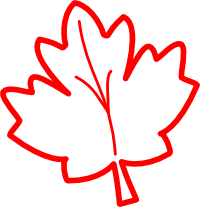 Outline clipart leaf. Fall panda free images