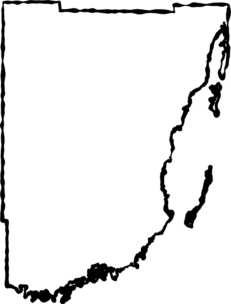 Outline of florida png. Miami dade fancy frame