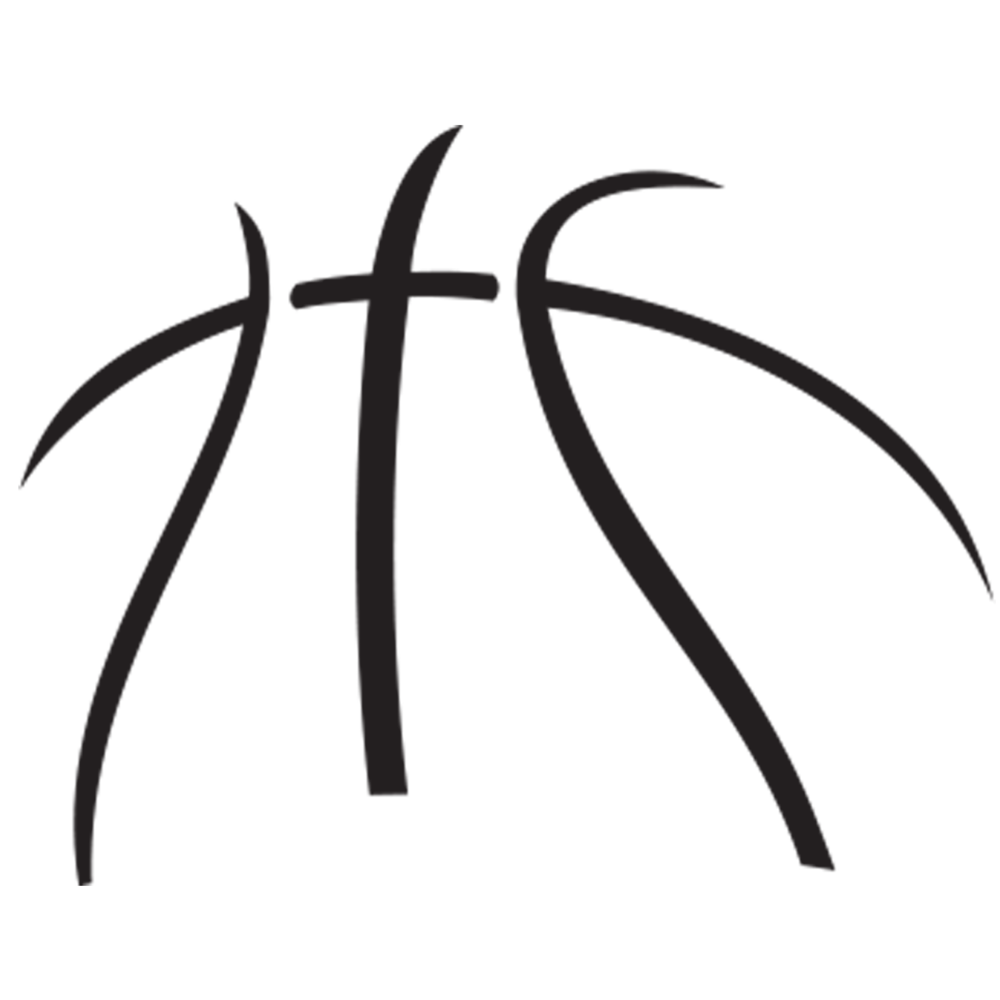 Outline vector basketball. About us news release